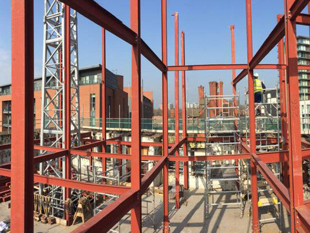 Blackfriars Manchester – Manufacturing and Install Steelwork, 100 Tonnes