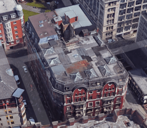 121 Princess Street Manchester - Manufacturing & Installation of 36 Tonne of Steelwork